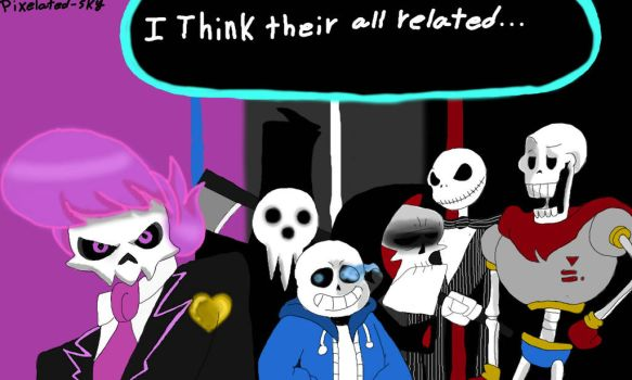Skele-thon by Pixelated-Sky