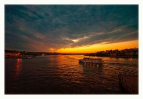 evening at golden horn by globalunion