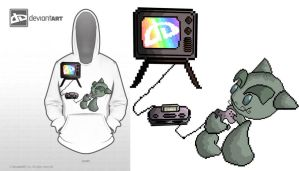 8bit-t-shirt-design-battle by eliantART