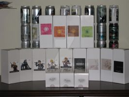 Final Fantasy Tumblers by StrikerXIII