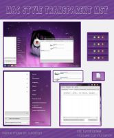 Mac Style Transparent MST Theme W7 by TutosNatiSUB