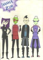 Invader Zim...Years Passed by DarbyLucy