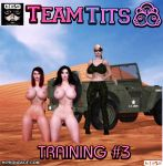 Cover of Team Tits: Training # 3 by B69comics