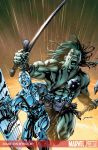 Skaar Son of Hulk 8 Colour by davidyardin