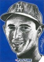 Sandy Koufax by machinehead11