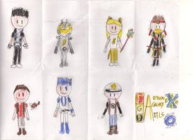 CGBXO Main Characters by OceanPictures61