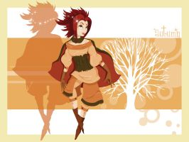 Autumn Sprite by flashparade