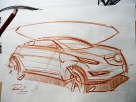 Quick Brown Pencil by Razza10