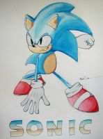 Sonic by o-BS-o
