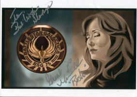 Mary McDonnell Autograph by jeminabox