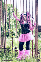 OPEN AIR PRISON | CYBER GOTH by PrincessMiele