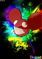 Deadmau5 Dammaged Art by XDaftXpunker