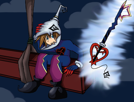 Sora as a Heartless Soldier by Doodlz18