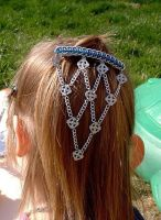 Barrette in maille by hwkwlf
