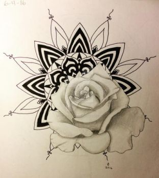Mandala Rose by LadyCelticRose