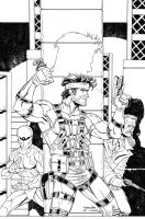 Dale MGS inks by madman1