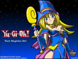 Dark Magician Girl Wallpaper version 2 by TheRealSneakers