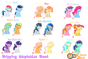 MLP | Shippings | Point Adopts | CLOSED by cheesepuff2