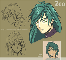 BEYBLADE - ZEO Concept Head by SlumberPoppy