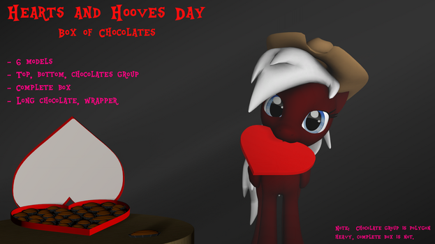 [DL] Hearts and Hooves Day - Box of Chocolates by The4thaggie