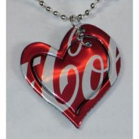 Coca Cola Heart Necklace by SavantiRomero