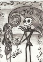 Jack and Sally by orangeflavoredtacos