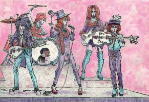 The New York Dolls by McQuade