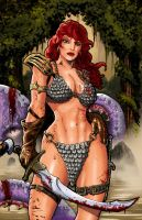Red Sonja by Iconograph
