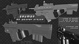 Grumon M2 PDW by primnull