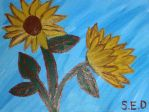 Sunflowers by LadyDistain