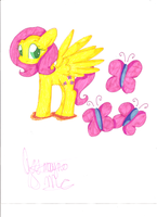 Fluttershy by QueenMoonlight101