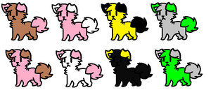 Adopts #12 -Open- by Furry-Adopts576