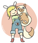fionna and cake by blargberries