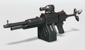 Borderlands 2 Weapon by s620ex1