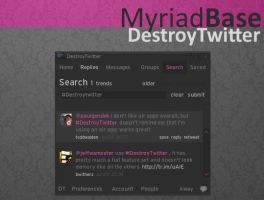 Myriad Base Destroy Twitter by AlbinoAsian
