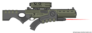 Prototype rifle Herakles by Robbe25