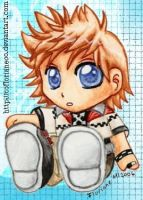 Roxas plushie by oOFlorianeOo