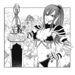 Erza Scarlet - Lineart + coloring needed !!! by Altair-Ezio