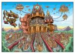 Steampunk: The Clockwork City by KneonT
