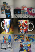 My Updated Megaman Collection as of Dec 19, 2011 by tanlisette