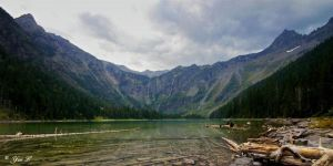 Avalanche Lake by Yair-Leibovich