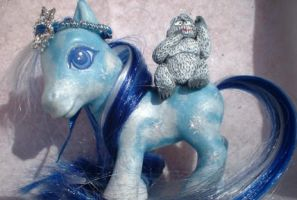 Bumble Christmas Pony One by AdeCiroDesigns
