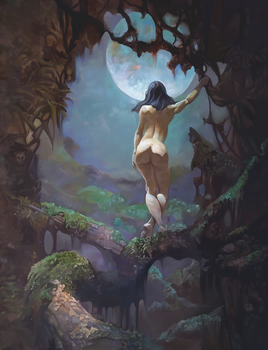 Frank Frazetta Tribute by Trisstrae