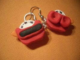 ViewMaster earrings by estranged-illusions