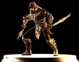 Injustice Scorpion by Yare-Yare-Dong