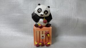 Kung Fu Panda 2 Papercraft by Mironius