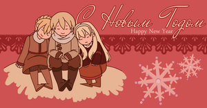 Hetalia | Happy New Year by Lazorite