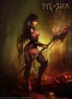 Pit of War - Female Theatrics Gladiator by pitofwar