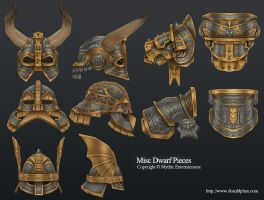 Warhammer Online: Dwarf Pieces by YeeWu