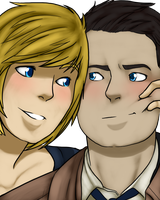 SPN - Just try to smile by schl4fmuetze
